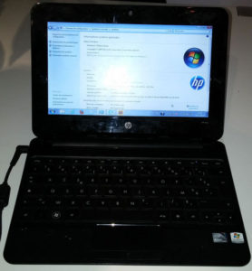 Un Pc portable datant de 2010